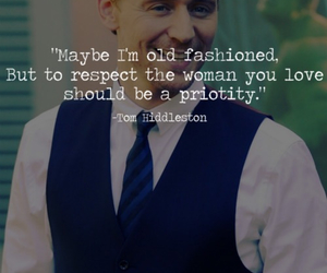 tom hiddleston, quotes, and woman image