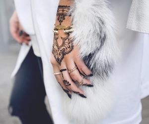 henna, fashion, and girl image