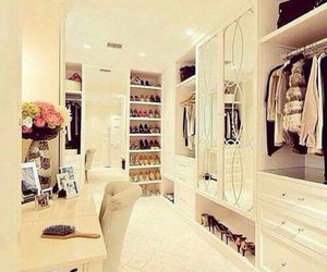closet, clothes, and luxury image