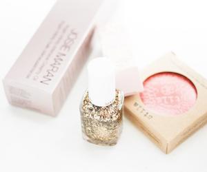makeup, nail polish, and beauty image