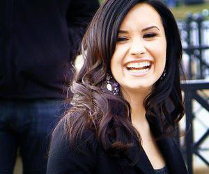 celebrity, demi, and laugh image