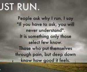 running and run image