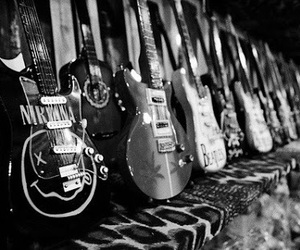 guitar, nirvana, and music image