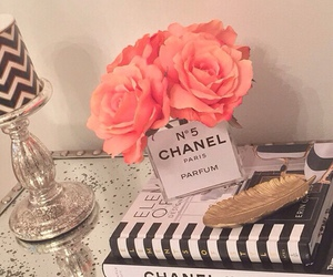 chanel, girly, and gold image