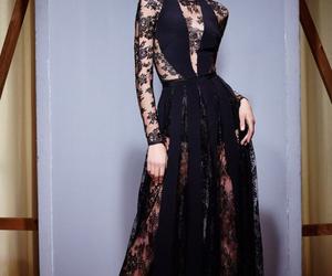 dress, black, and 2015 image
