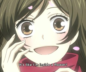 anime girl, cherry blossom, and sakura image