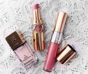 make up and YSL image