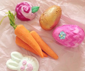 bunny, carrots, and lush image