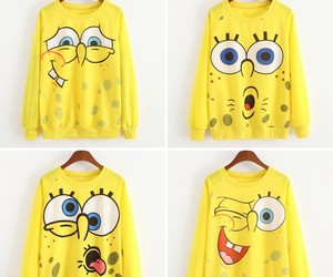 fashion, spongebob, and girl image