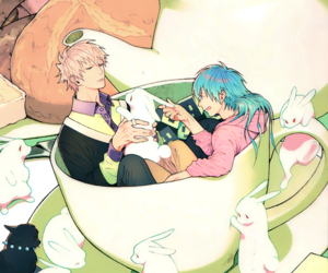 dramatical murder, anime, and bunny image