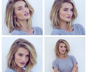 model, hair, and rosie huntington whiteley image