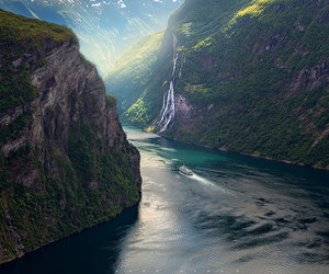 norway, beautiful, and nature image