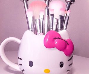 Brushes, girly, and makeup image