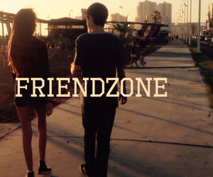 friendzone., friends, and love image