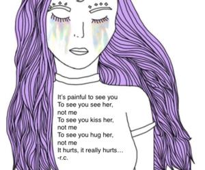 poem, tears, and love image