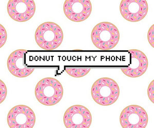 background, delicious, and donut image