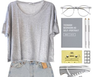 casual, plain, and Polyvore image