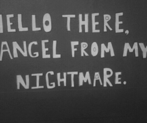 nightmare, angel, and quote image