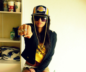 swag, girl, and love image