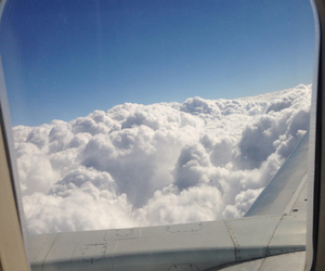 clouds, fly, and germany image