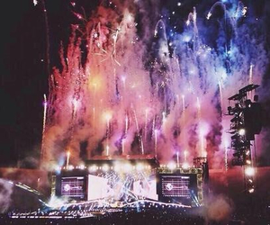 one direction, 1d, and fireworks image