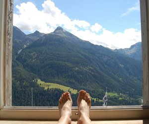 feet, switzerland, and swiss alps image