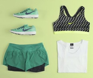 clothes, green, and gym image