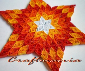 quilling and star image