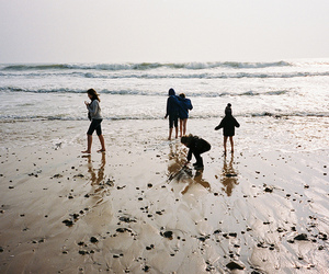 beach, summer, and indie image