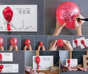 carta, diy, and globo image