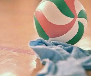 volleyball and colors image