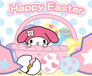 easter, happy easter, and my melody image