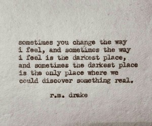 quote, Drake, and rmdrk image