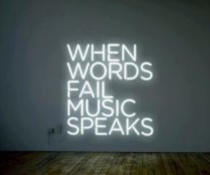 music, words, and quotes image