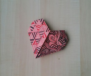 art, drawing, and origami image