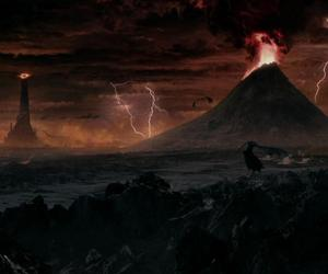 lord of the rings, LOTR, and mordor image