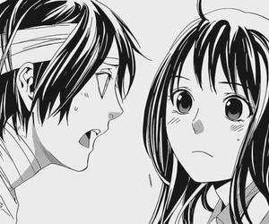 noragami, hiyori, and yato image