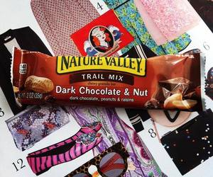 chocolate, eat, and granola image