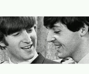 john lennon, Paul McCartney, and ♥ image