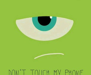 green, wallpaper, and dont touch my phone image