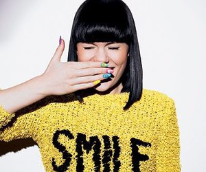 smile, jessie j, and nails image