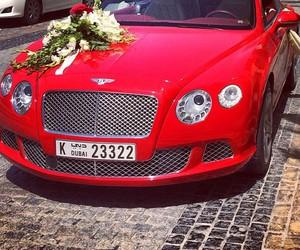 Dubai, red, and luxury image