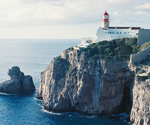sea, lighthouse, and photography image