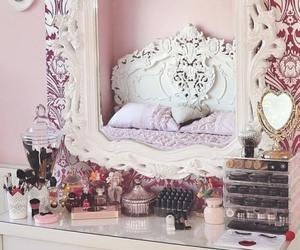 make up, room, and girly image