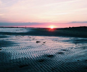 beach, grunge, and ocean image
