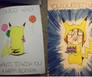 birthday, card, and funny image