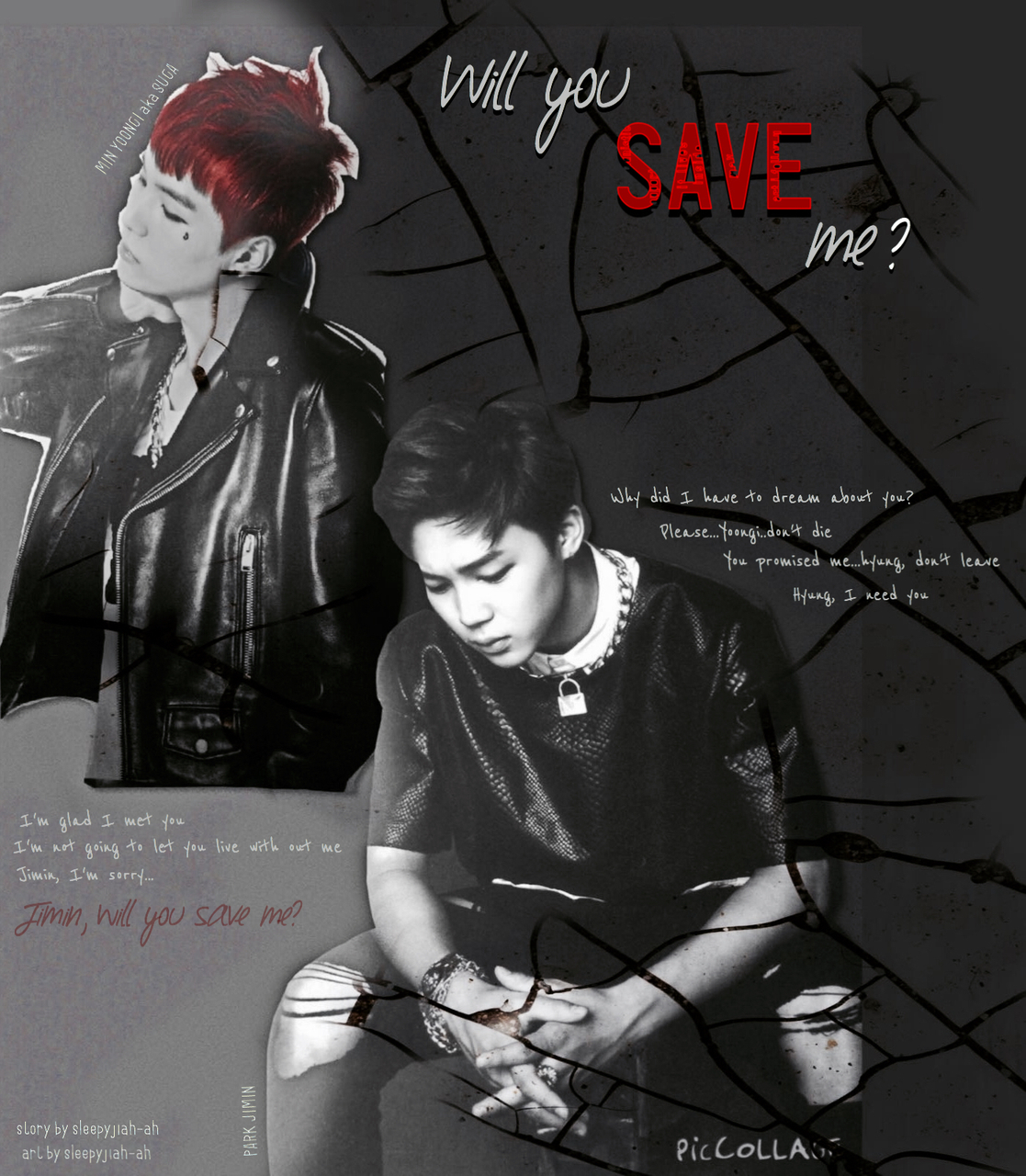 My Yoonmin fanfiction cover :) on We Heart It