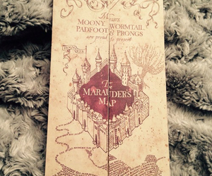 harry potter and marauders map image