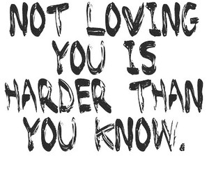 hard, love, and know image