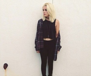 grunge, bea miller, and black image